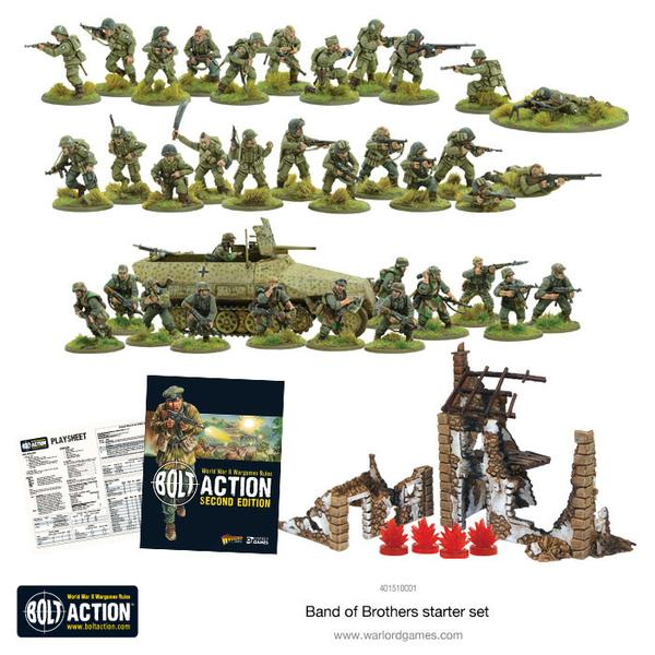 Bolt Action Band of Brothers contenido