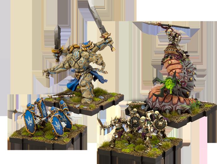 Runewars miniaturas