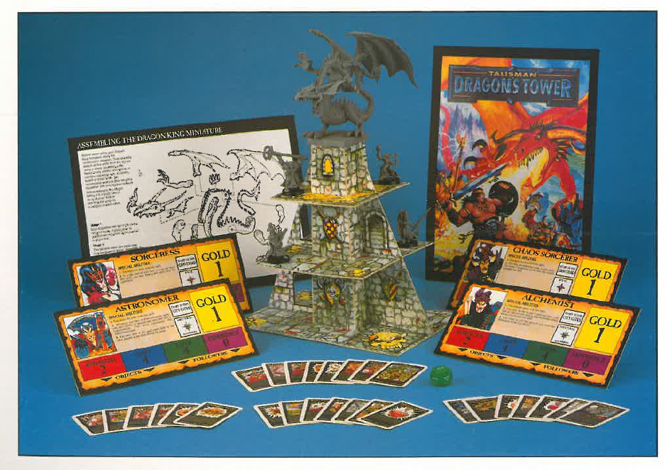 Talisman Dragon's Tower