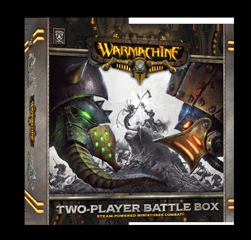 Caja de dos jugadores de Warmachine