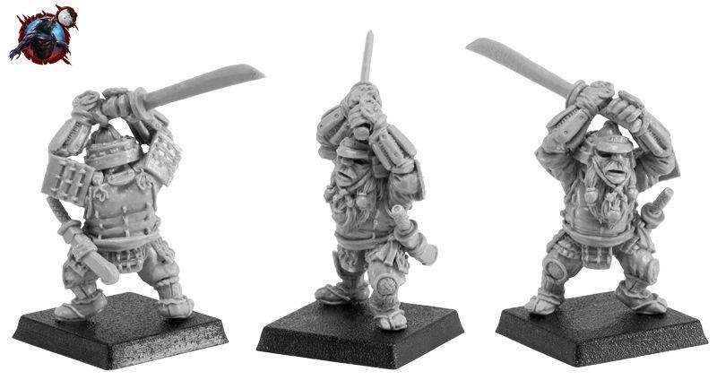 Werewoolf Dwarf Samurai